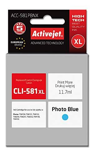 Activejet ACC-581PBNX Cartucho de Tinta 1 Pieza(s) Compatible Alto Rendimiento (XL) Azul fotográfico