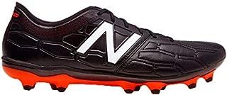 New Balance Visaro 2.0 Pro K Leather FG Football Boots - Adult - Black/Alpha Orange - UK Shoe Size 6