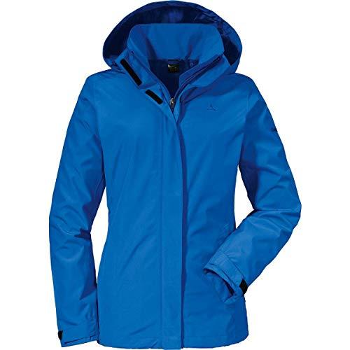 Schöffel Damen Jacket Sevilla2 wind- und wasserdichte Outdoorjacke aus atmungsaktivem Material, leichte Regenjacke für Frauen
