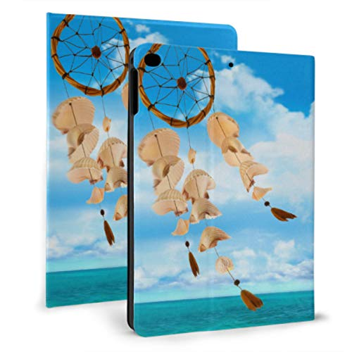 XiexHOME Carcasa Personalizada para iPad Seashore Shell Wind Bells In Summer Cover iPad para iPad Mini 4 / Mini 5/2018 6th / 2017 5th / Air/Air 2 con Auto Wake/Sleep Carcasa magnética p