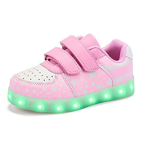 Green Hope-Rise Field LED Light Up Sneakers