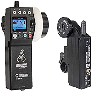 Rattlesnake Wireless Follow Focus Basic Kit with Standard Motor and LCD Display