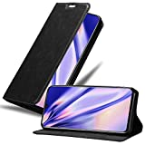 Cadorabo Book Case works with MEIZU NOTE 9 in NIGHT BLACK -