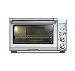 Features an interior oven light to keep an eye on your cooking 10 pre set cooking functions include: Toast 6 slices, bagel, bake, roast, broil, pizza, cookies, reheat, warm, slow cook Capacity: 6 slice toaster, 13 inches pizza. Dimensions-18.5 x 14.5...