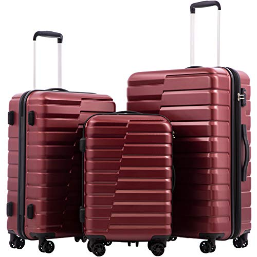 COOLIFE Luggage Expandable(only 28