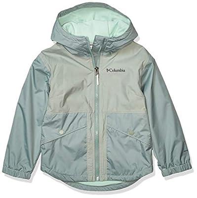 Columbia Kids & Baby Rainy Trails Fleece Lined Jacket, Light Lichen, Small