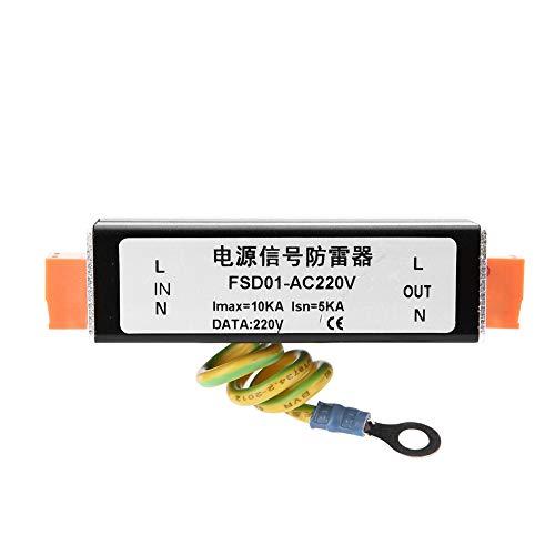 Spannungs und Stromschutzgerät, Überspannungsschutz aus Aluminiumlegierung, Blitzschutz für CCTV-Wechsel-/Gleichstrom
