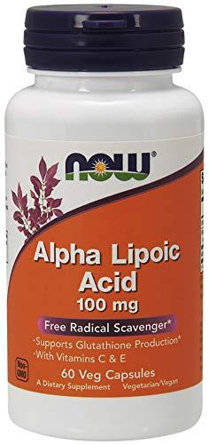 NOW Foods - Alpha acido lipoico 100 mg. - 60 capsule vegetariane