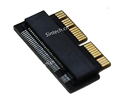 Sintech NGFF M.2 nVME SSD Adapter Card for Upgrade MacBook Air(2013-2016 Year) and Mac PRO(Late 2013-2015 Year)