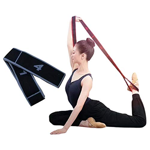 Lumanby Yoga Stretch Band Tension Resistance Band Elastic Band Tension Band for Gymnastics Workout 3543 x 009inch