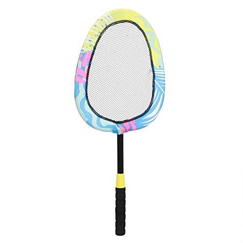 Jiawu Raqueta De Bádminton De Los Niños, Peso Ligero De La Raqueta De Tenis con La Bola Animosa del Tenis De La PU del Bádminton para Al Aire Libre
