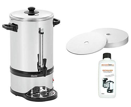Rundfilter Kaffeemaschine Pro II 100T + 100 Rundfilter + Flüssig-Entkalker