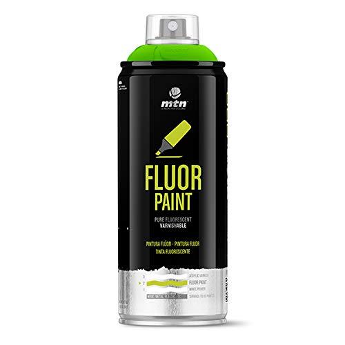 Montana Colors MTN PRO Pintura Flúor Verde - Spray de Pintura, Flúor Verde