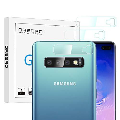 NEWZEROL Ersatz für Samsung Galaxy S10 / Samsung Galaxy S10 Plus Kamera Panzerglas Schutzfolie, 4 stück 2.5D Arc Edge High-Definition Glasschutzfolie with CLAR Lifetime-Ersatzgarantie