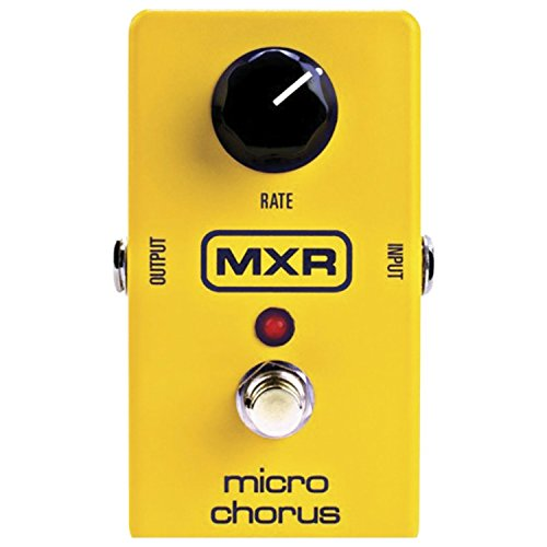 MXR M148 Micro Chorus Guitar Effects Pedal w/2 FREE 6' Patch Cables