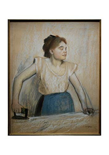 Spiffing Prints Edgar Degas - Degas La Repasseuse - Extra Large - Matte - Framed