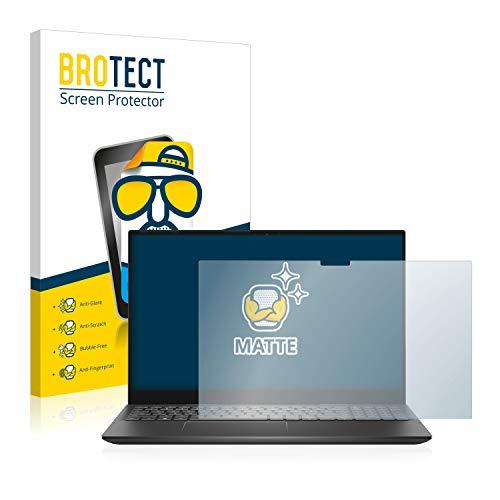 BROTECT Entspiegelungs-Schutzfolie kompatibel mit Dell Inspiron 15 7506 Bildschirmschutz-Folie Matt, Anti-Reflex, Anti-Fingerprint