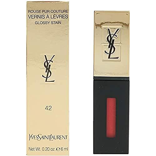 Yves Saint Laurent Pur Couture Vernis À Lèvres Pintalabios Tono 42 - 6 ml