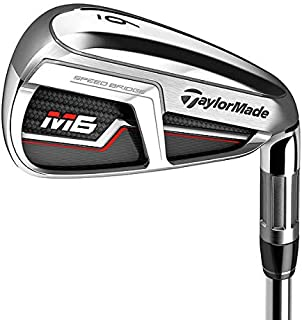 TaylorMade M6 Iron Set 4-GW Nippon NS Pro Modus 3 Tour 105 Steel Stiff Left Handed 38.0in