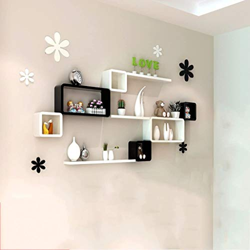 JPVGIA Wall Shelf Floating Wall, Living Room/bedroom/study/dining Room Wall Decoration, TV Background Decoration