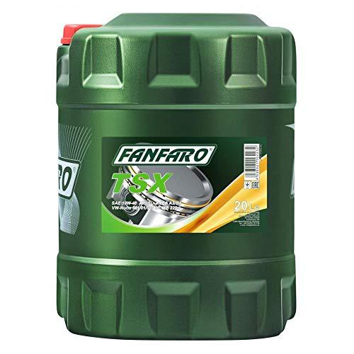 1 x 20L FANFARO TSX 10W-40 API SL/CF / Motoröl 501.01/505.00 229.1