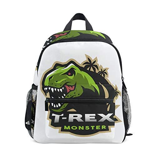 Mochila para niños Dinosaurio T-Rex Kindergarten Preescolar Bolsa para niñas de niños pequeños