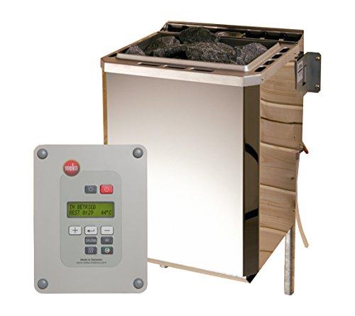 Weka Technikpaket Saunahaus Serie 533, 9,0 kW BioAktiv-Ofen Saunaofen, Metall, 36,6x38x66,8 cm