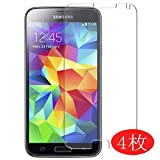 VacFun Lot de 4 Film de Protection d'écran pour Samsung Galaxy S5 Prime 0,14mm, sans Bulles,...