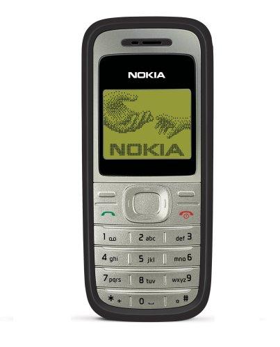 Nokia 1200 Black (Organizer, 3 Spiele) Handy