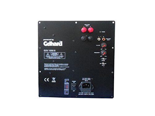 Gelhard GXV1000S AKTIV SUBWOOFER Einbau MODUL - 1000WATT MAX - 500WATT RMS