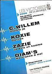 LES VICTOIRES DE LA MUSIQUE 2008 / WILLEM - DIAM\'S - KOXIE - ZAZIE