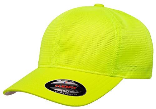 Flexfit Men's 360 Omnimesh Cap, Neon Yellow, L/X-Large