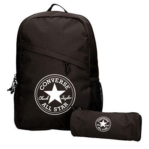Converse Schoolpack XL Backpack Unisex Set Black 45GXB90, Farben:Schwarz