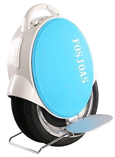Airwheel Q5 Gyropode monocycle électrique à Double Roue 35 cm Unisex-Youth, Blue, 53x35x37