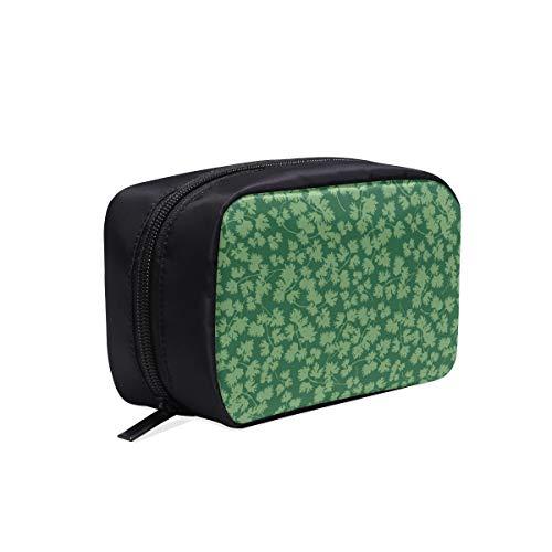 Frauen Make-up Taschen Kreative Grüne Gemüse Koriander Mode Tasche Frauen Für Frau Taschen Make-up Zubehör Tasche Kosmetiktaschen Multifunktions Fall Make-up Tasche Für Kinder