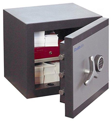 Chubbsafes CH10–Caja fuerte DuoGuard 40E grado 1, 40litros W/60minutos fuego calificación & 2Yr garantía