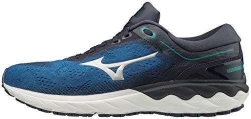 Mizuno Wave SKYRISE, Zapatillas para Correr para Hombre, TBlue/Silver/Navy Blazer