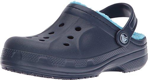 Crocs Crocswinterclgk, Zoccoli Unisex – Bambini, Blu (Navy/Electric Blue), 22-24 EU