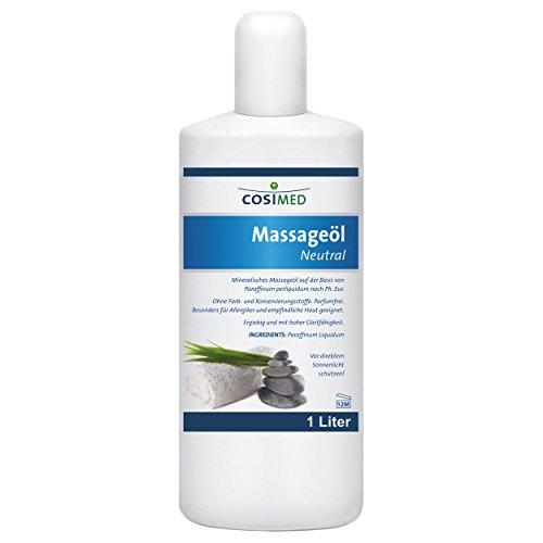 CosiMed Massageöl Neutral, 1er Pack (1 x 1 l)