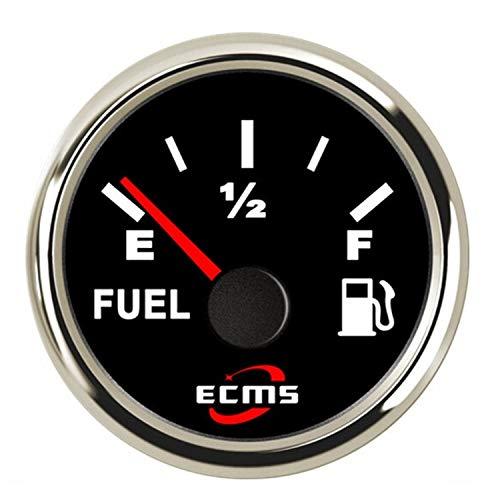 ScottDecor Multímetro Metros Abrazadera Indicador de medidor de Nivel de Tanque de Aceite Combustible Auto de 2