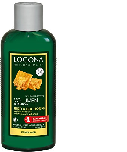Logona Bio Volume, shampoo al miele di birra (1 x 75 ml)