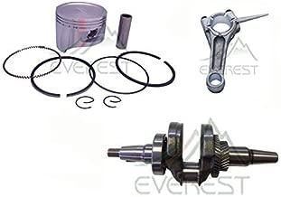 Everest Brand KIT Compatible with Honda GX390 13HP Roller KIT Tapered CRANKSHAFT Piston KIT Connecting Rod Ring