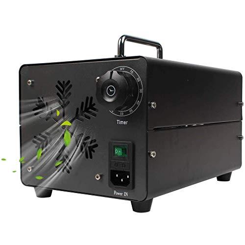 GXXDM Generador de ozono Comercial de 20000 MG/h, purificador de Aire Industrial O3, máquina generadora de ozono portátil con Temporizador para el hogar, la Oficina, el Hotel, el resta