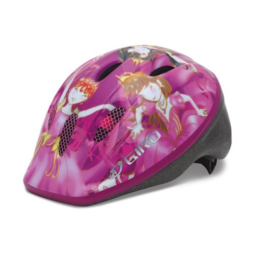 Giro Kinder Fahrradhelm Rodeo, pink princess, 50-55 cm, 200022006