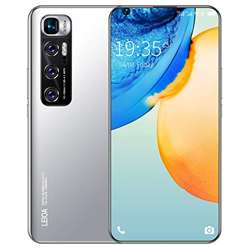 ELLENS Smartphone Desbloqueado, 2 GB de RAM, 16 GB de ROM, teléfonos móviles 3G desbloqueados, Ranuras para Tarjetas triples, Android 7.1, Pantalla Completa de 6.7 Pulgadas, Doble SIM