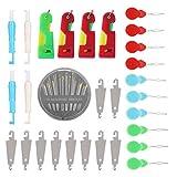 Juego de enhebradoras Juego de enhebradoras de agujas Juego de enhebradoras de agujas Juego de enhebradoras de ancianos Hogar para máquinas de coser Varias agujas La mayoría de la industria