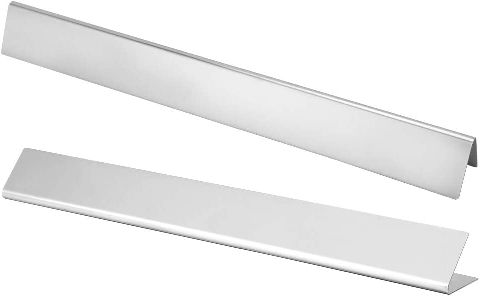 New item Heat Plate Special price Shield Grill 2Pcs Stainless He Steel BBQ Parts
