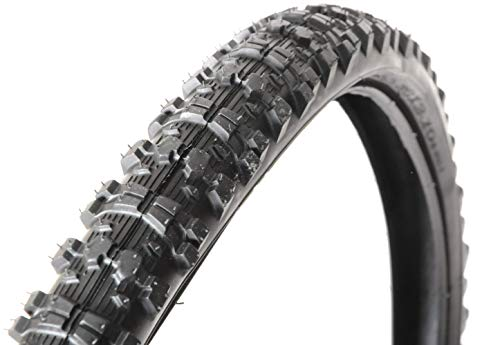 Claud Butler Explorer 26' x 2.10' Mountain Bike Puncture Protection Guard Tyre Off-Road Knobbly MTB (One Tyre)