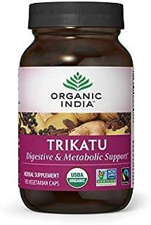 ORGANIC INDIA Trikatu Supplement, 90 Veg Caps