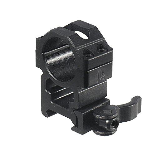 UTG 1'/2PCs High Pro LE Grade Picatinny QD Rings: 22mm Wide